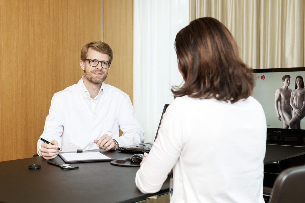 Beratung Aare Klinik Bern Plastische Chirurgie