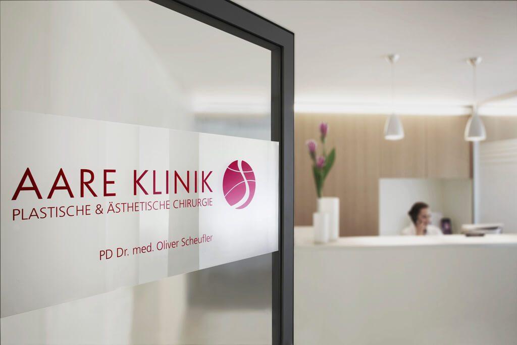 Empfang Plastische Chirurgie Aare Klinik Bern